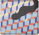 Pierre Hardy Multicolor Camocube Wallet
