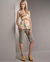 Nanette Lepore Striped Shorts