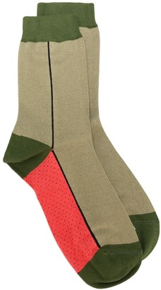 Paul Smith Colour Block Ankle Socks
