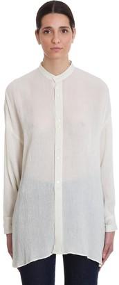 L'Autre Chose Shirt In Beige Cotton