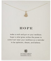 Dogeared Hope Dove Necklace