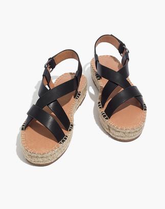 Madewell The Malia Espadrille Sandal