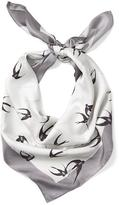 Banana Republic Swallow Print Square Scarf