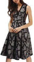 Topshop Women's Gothic Jacquard Dress
