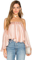 Backstage Rianna Top in Rose. - size L (also in M,XS)