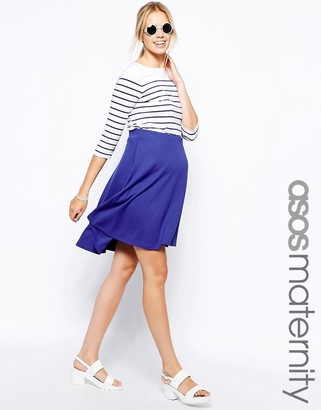 Asos Full Midi Skater Skirt
