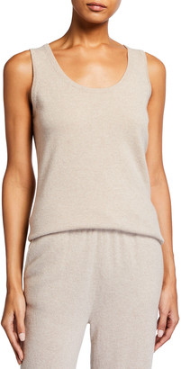 Tse For Neiman Marcus Solid Recycled Cashmere Tank