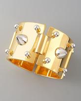 Mixed-Metal Studded Bracelet