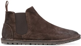 Marsèll Textured Ankle Boots