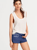 Victoria's Secret Sunwashed Terry High-waisted Short