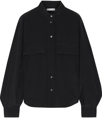Frame Safari Silk Crepe De Chine Shirt