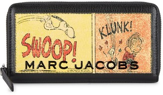 Marc Jacobs X Peanuts printed leather wallet