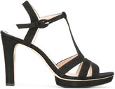 Repetto T-strap sandals - women - Leather/rubber - 37.5