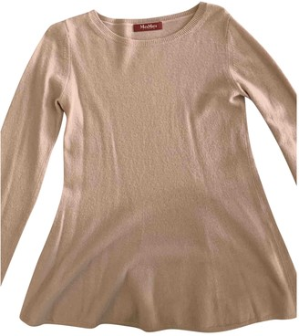 Max Mara Camel Cashmere Top for Women