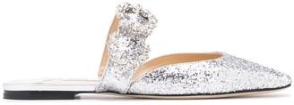 Jimmy Choo Gee crystal flat sandals