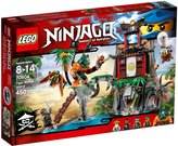 Lego Ninjago Tiger Widow Island - 70604