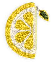 Oasis Lemon Beaded Purse