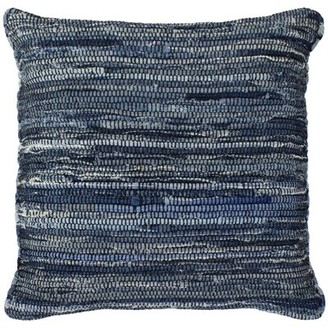 French Connection Azul Indoor/Outdoor Cotton Throw Pillow