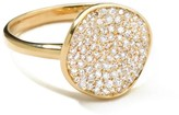 Ippolita 18kt yellow gold Stardust Disc diamond ring