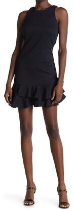Eliza J Ruffle Trim Tank Dress