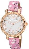 Laura Ashley Women's LA31005PK Analog Display Japanese Quartz Pink Watch
