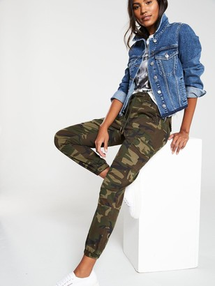 Very Camouflage Print Utility Jogger - Camo Print