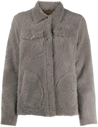 Giorgio Brato Fitted Shearling Coat