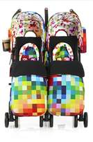 Cosatto Infant Supa Dupa Pixelate Double Stroller