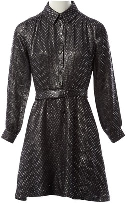 Vanessa Seward Anthracite Silk Dresses