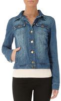 Dorothy Perkins Midwash stud denim jacket