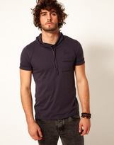 Firetrap T-Shirt With Cowl Neck