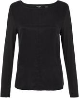Oxford Phillipa Cupro T-Shirt Deep Navy X