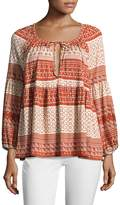 Rachel Pally Women's Rupert Printed Top