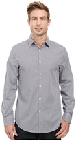 Perry Ellis Regular Fit Non Iron Color Check Pattern Shirt