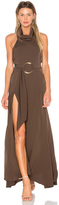 Shona Joy Zelda Funnel Neck Maxi Dress