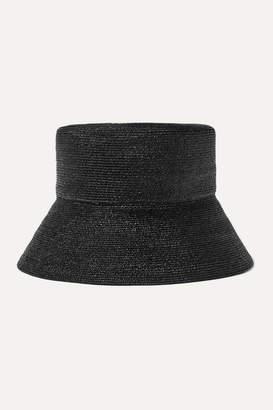 Eugenia Kim Isabel Straw Hat - Black