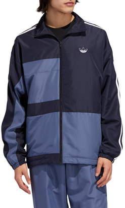 adidas Asymmetrical Colorblock Track Jacket