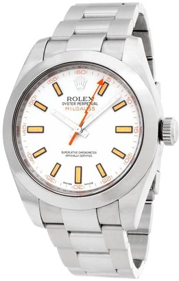 Rolex 2008 pre-owned Milgauss 40mm