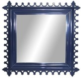 The Well Appointed House Oomph Newport Square Wall Mirror-Available in 16 Different Colors