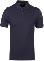 Aquascutum Hilton Navy Pique Polo Shirt