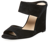 Piper Suede Wedge