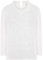 Sonia Rykiel Embellished cotton sweater