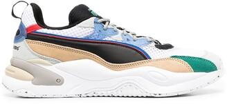 Puma Colour-Block Panel Sneakers
