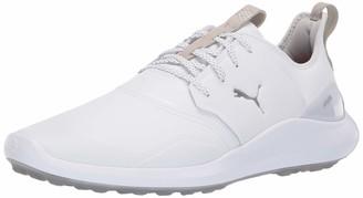 Puma Golf Men's Ignite Nxt Pro Golf Shoe high Rise Team Gold White 11 M US