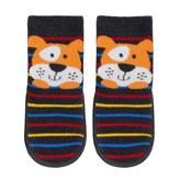 Jumping Beans Baby Boy Jumping Beans® Puppy Striped Slipper Socks