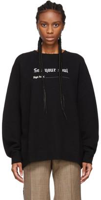 R 13 Black Sell Your Soul Sweatshirt