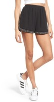 Soprano Women's Studded & Embroidered Shorts