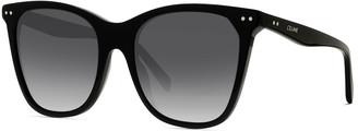 Celine Cat-Eye Gradient Acetate Sunglasses