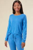 PJ Salvage Sea Blue Essential Sweatshirt Blue S