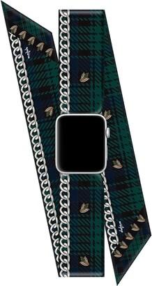 Wristpop Cher Tartan 42mm/44mm Apple Watch(R) Scarf Watch Band